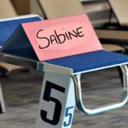 Startblok voor Sabine